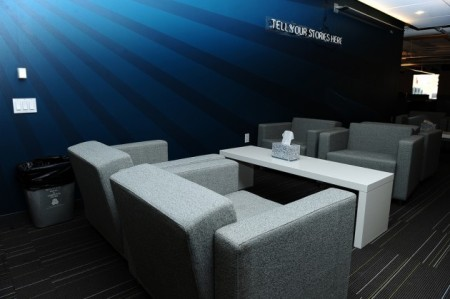 Twitter office break-out space (via techcrunch.com)