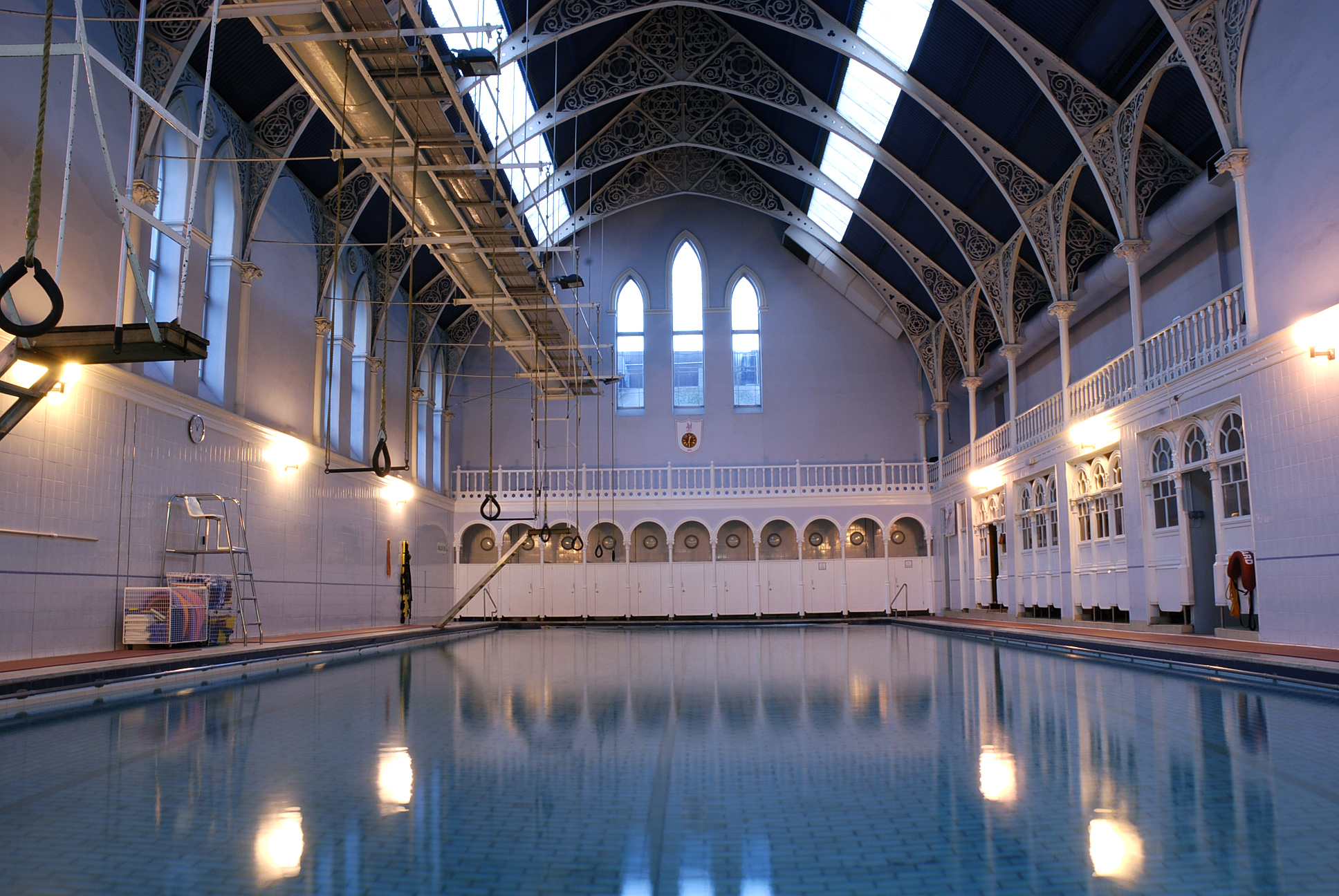Scotland S Victorian Swimming Baths Interior Design