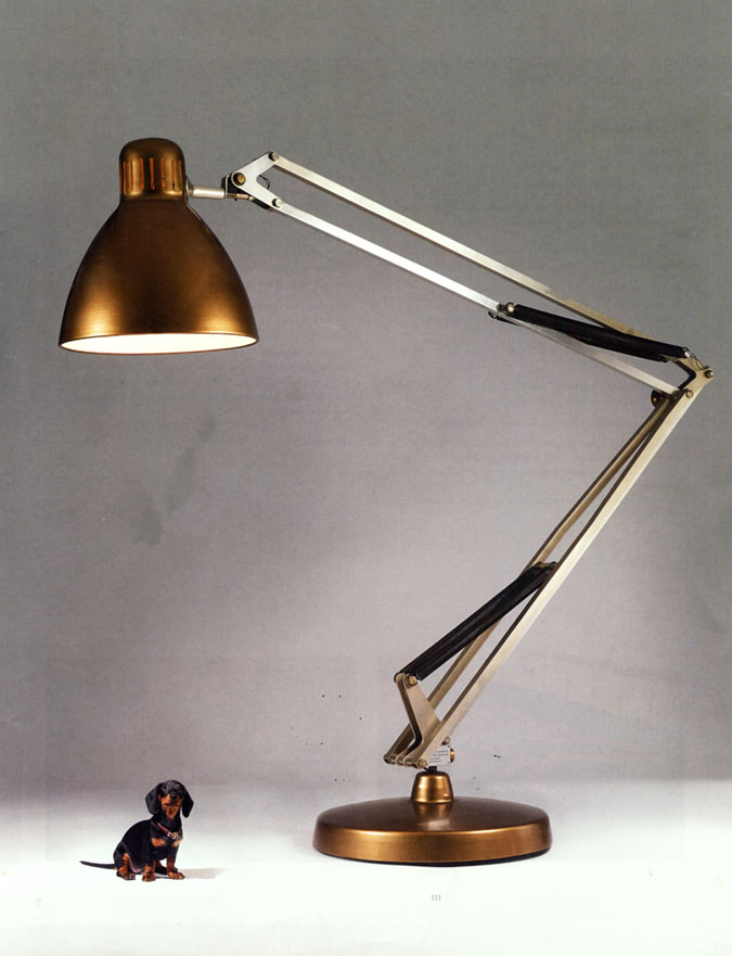 Oversized lamps interior design - Large anglepoise lamp ...