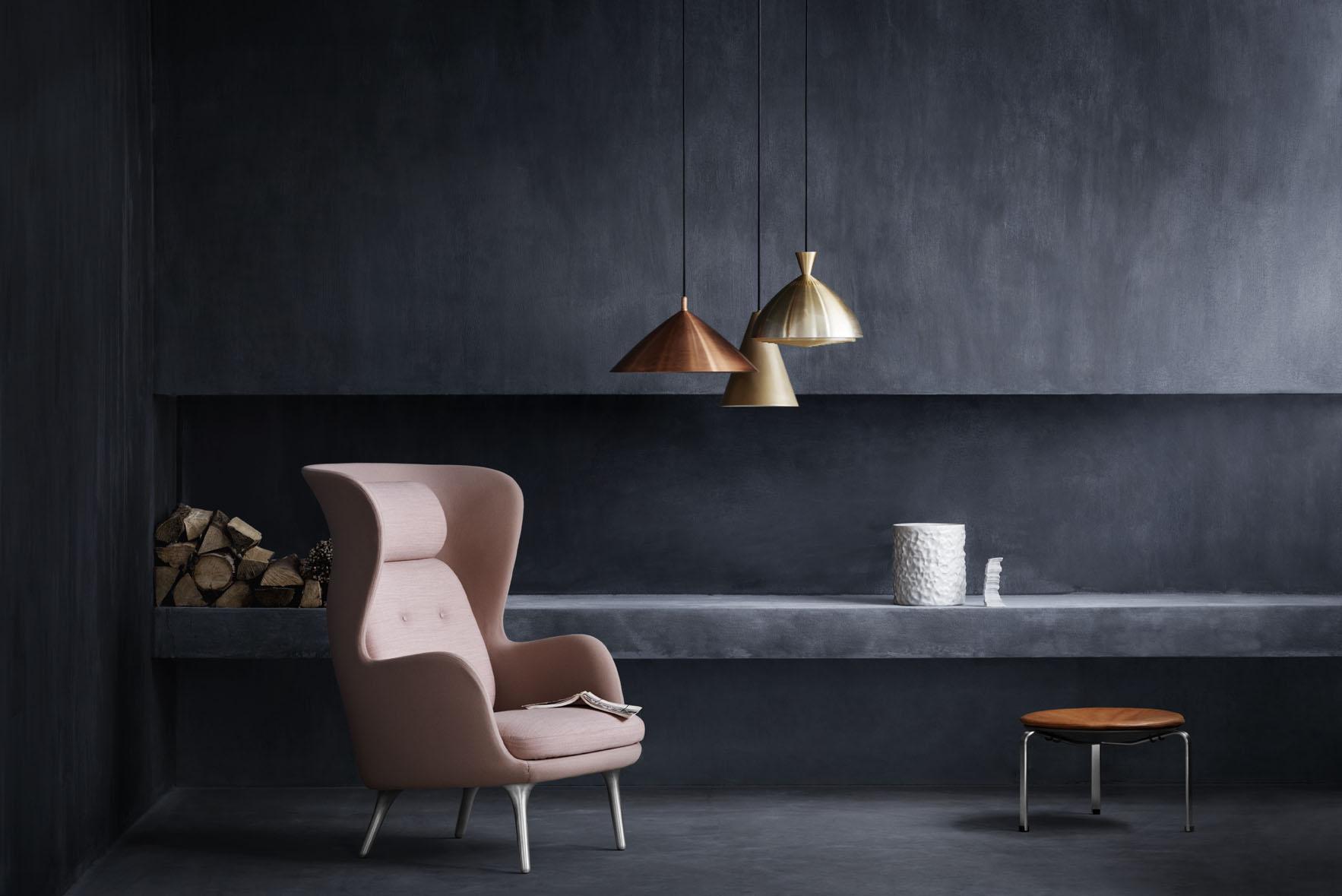 fritz hansen s ro the new comfort zone interior design. Black Bedroom Furniture Sets. Home Design Ideas